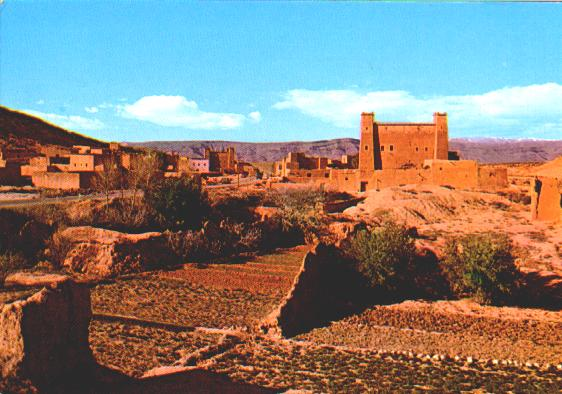 kashbah in the south of Morocco