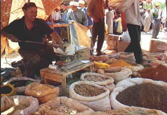 market spices